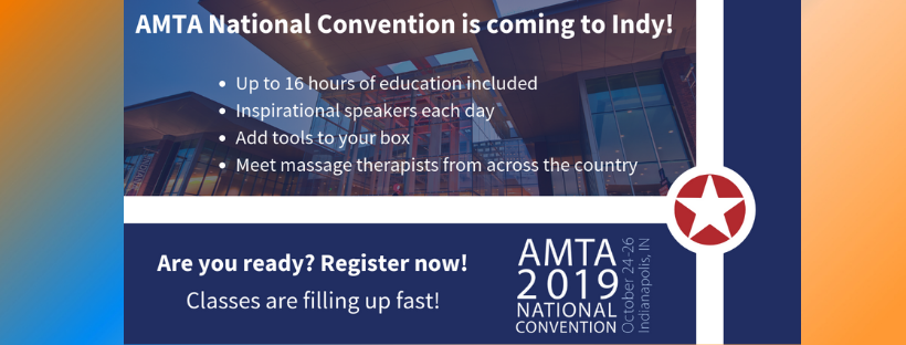 Register now for AMTA National Convention