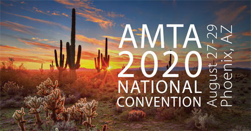 AMTA 2020 National Convention Phoenix